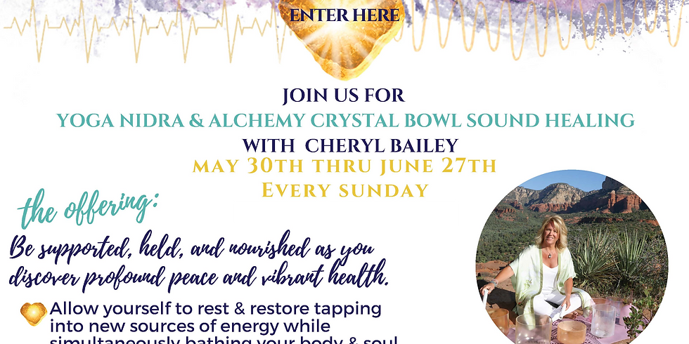 Yoga Nidra/Crystal Alchemy Bowls