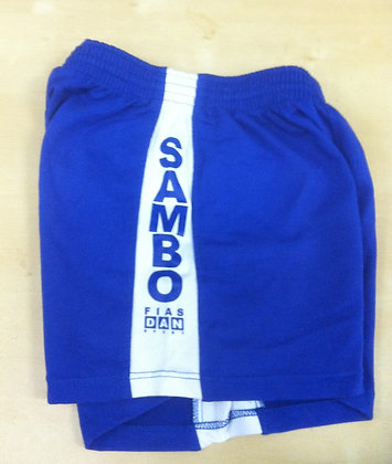 Offical SAMBO Competition Shorts (Blue)