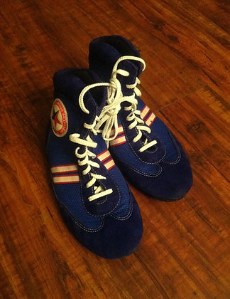 Official Blue SAMBO Shoes