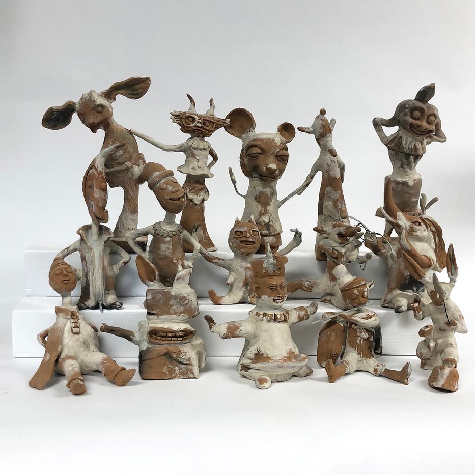 terracotta sculptures