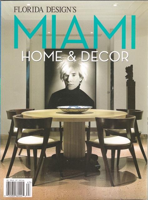 Florida Design's MIAMI Home & Decor
