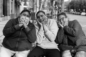 a homeless family