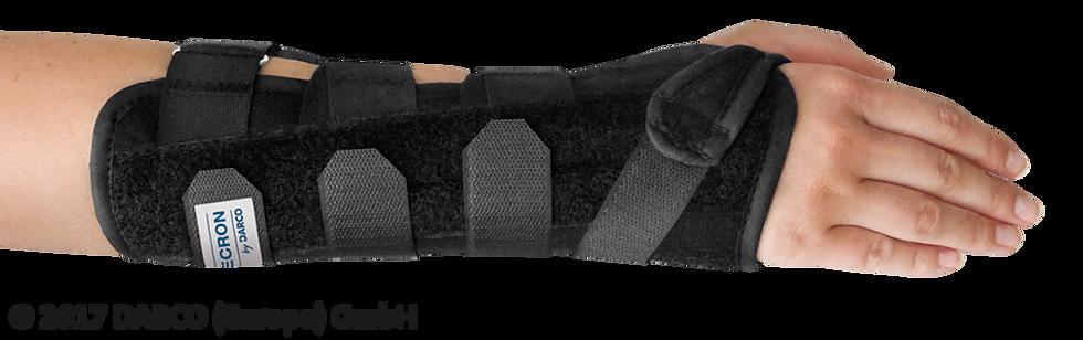 MECRON Wrist Guard (Férula de muñeca y antebrazo)