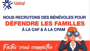 Campagne de recrutement des représentants CAF et CPAM