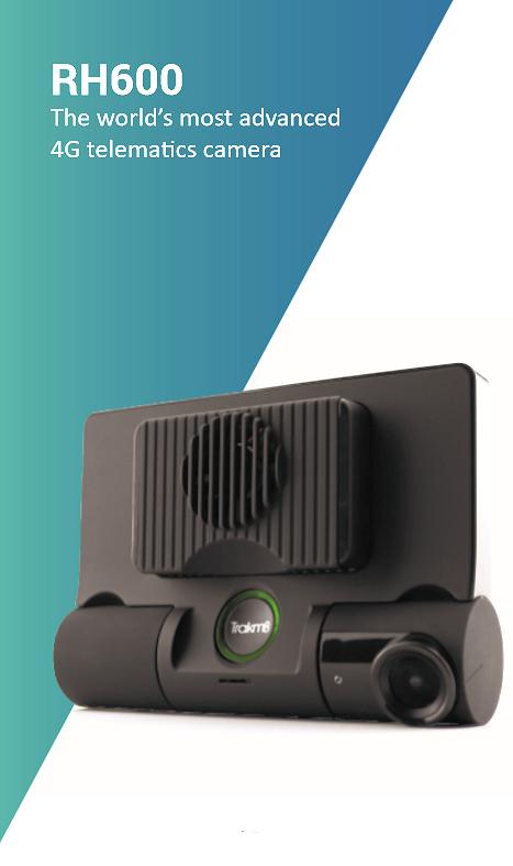 RH600 dashcam with built in tracker