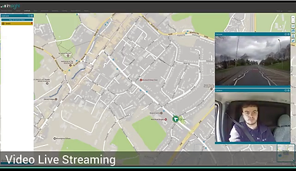 Example photo of GPS Fleet tracker with built in dashcam