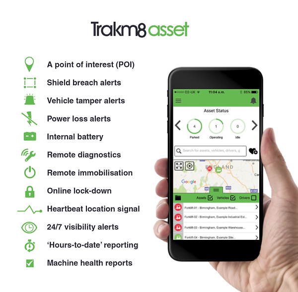 Mobile phone app for gps fleet tracking