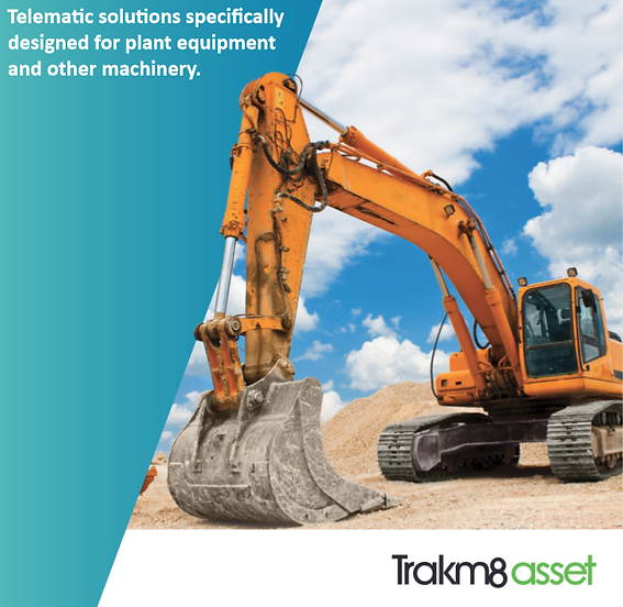 Plant machinery with gps fleet tracke
