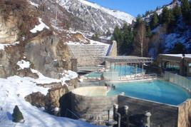 Termální lázně v horách