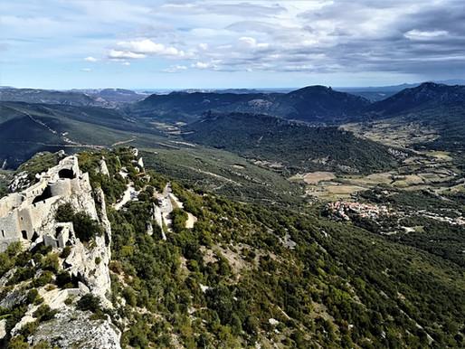 Katarské hrady v jižní Francii
