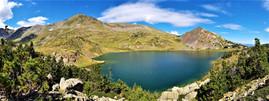 Carlit 2921 m.n.m. a jeho 12 jezer