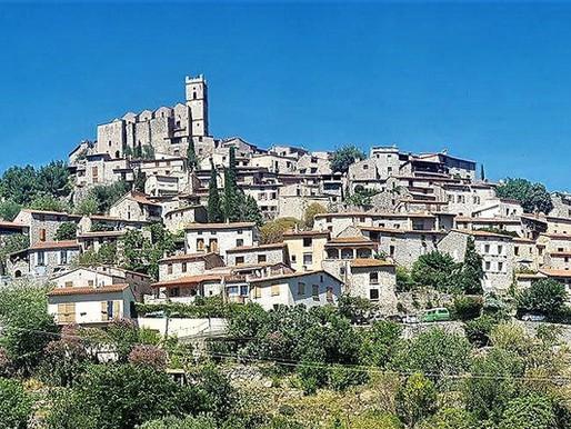 Les Plus Beaux Villages de France - nejkrásnější vesnice Francie v regionu Pyrénées Orientales