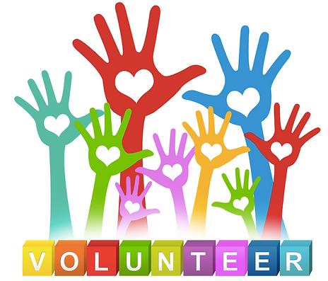 Volunteer to help.