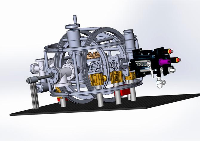 Master 2 : Potassium laser system development