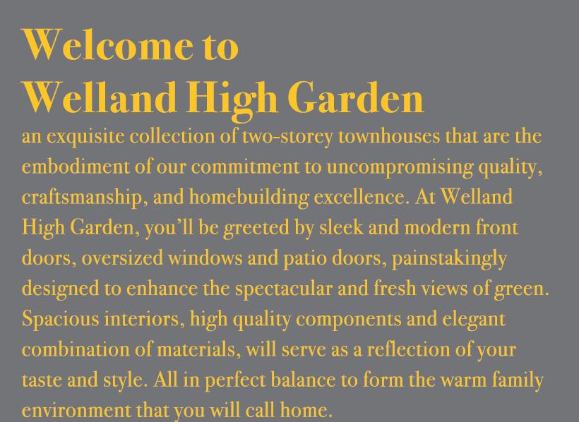 Welland High Garden