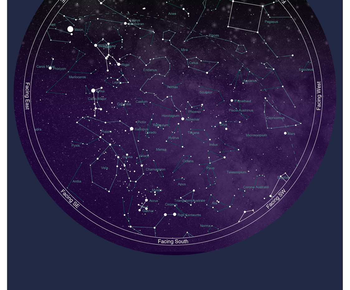 Star Map - Full size
