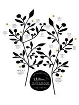 Mini Family Tree Print - Modern
