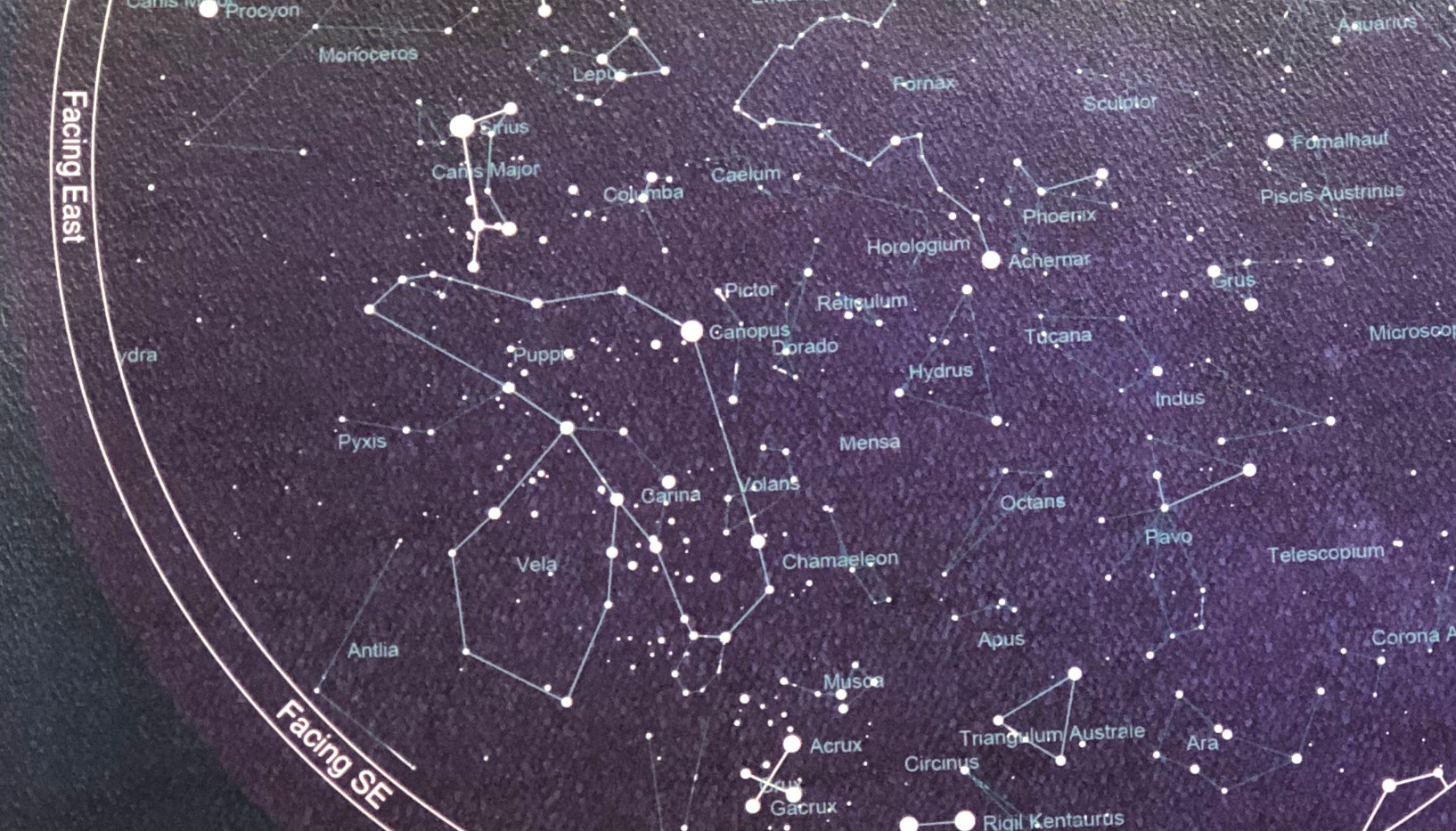 Star Map - detail