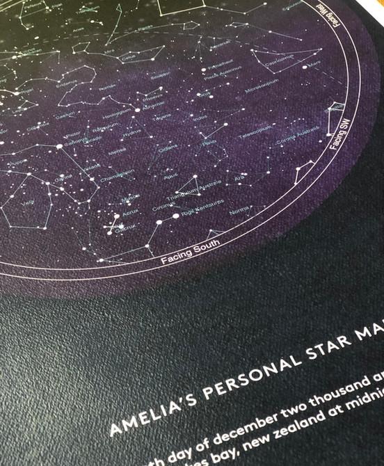 Star Map - detail
