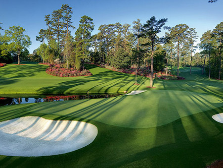 The Masters is becoming a more international tournament.