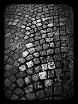 Pavés gris Paris
