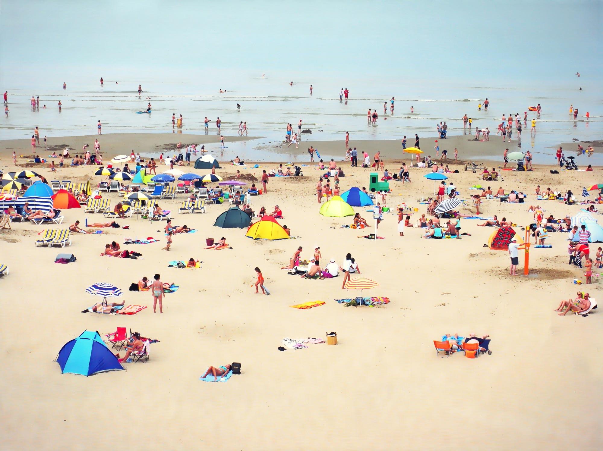 Les jours heureux-plage de De-Haan