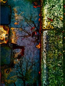 Ruisseau vert et or Paris