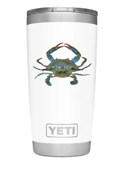 Yeti 20oz with Blue Crab
