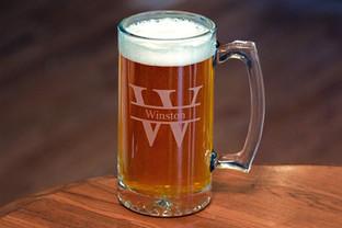 Engraved Beer Mug