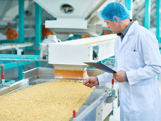 Machine vision inspection in the food industry