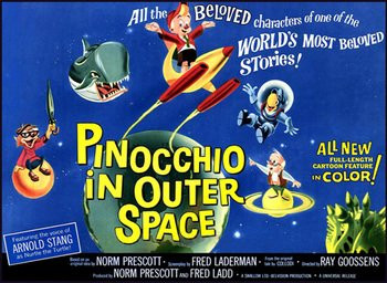 Pinocchio in Outer Space Movie Poster
