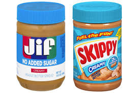 there is no such thing as Jiffy Peanut Butter just Jif and Skippy
