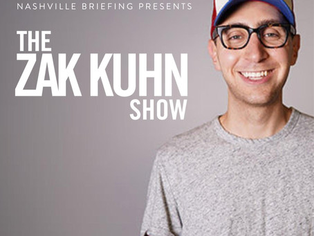 Zak Kuhn, Founder of Backboard Entertainment and the Nashville Briefing Joins the Pod