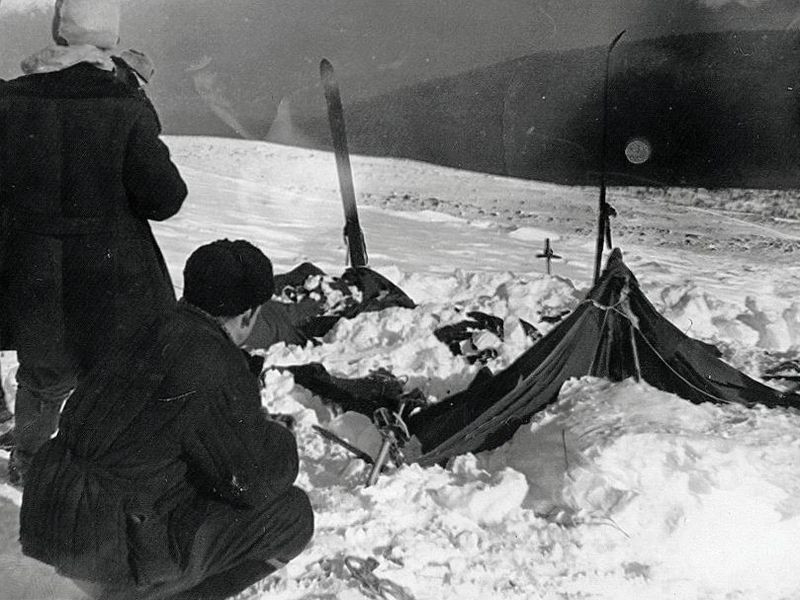 Dyatlov Pass Incident tent