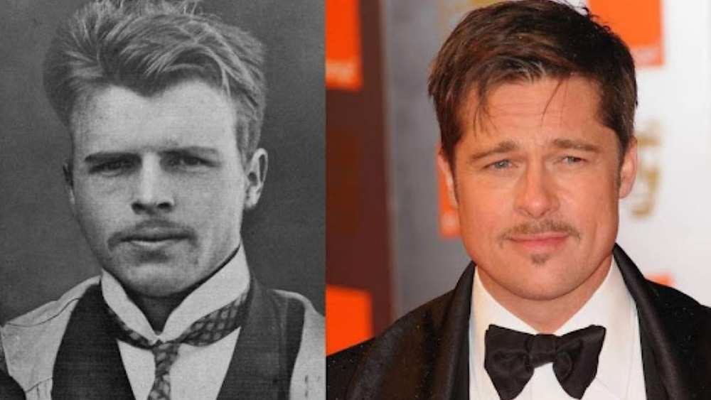 Hermann Rorschach is Literally Brad Pitt