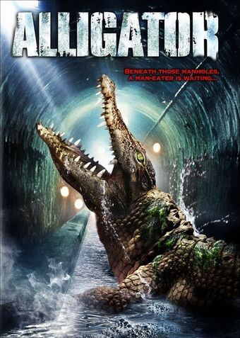 Cover of the 1980 Horror Comedy Film Alligator