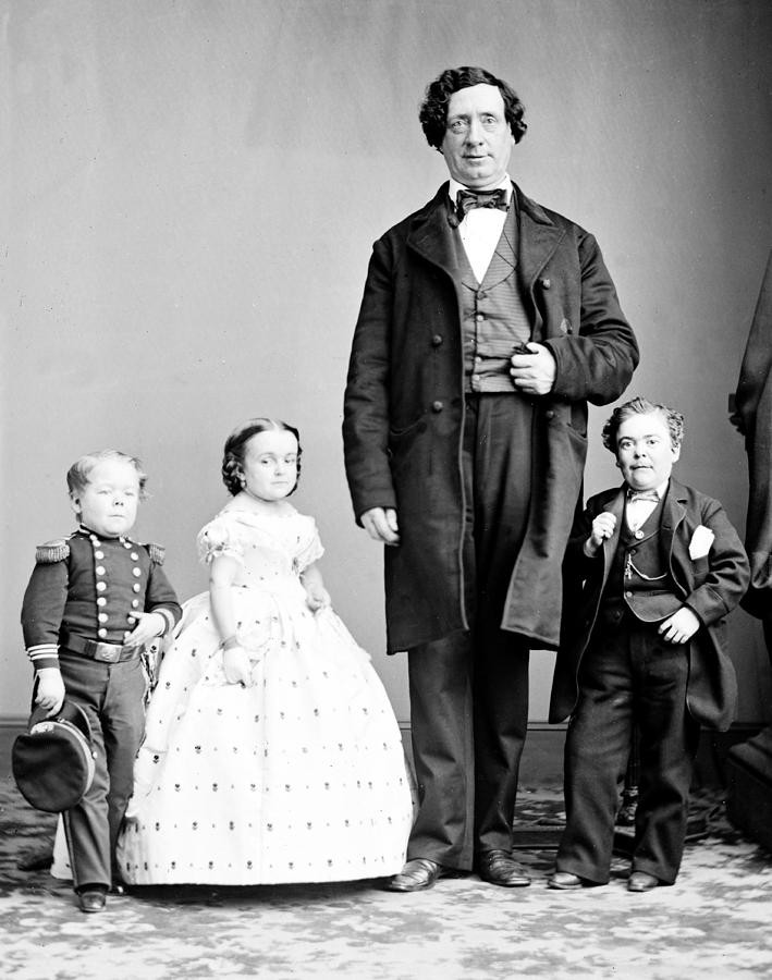 General Tom Thumb and Family