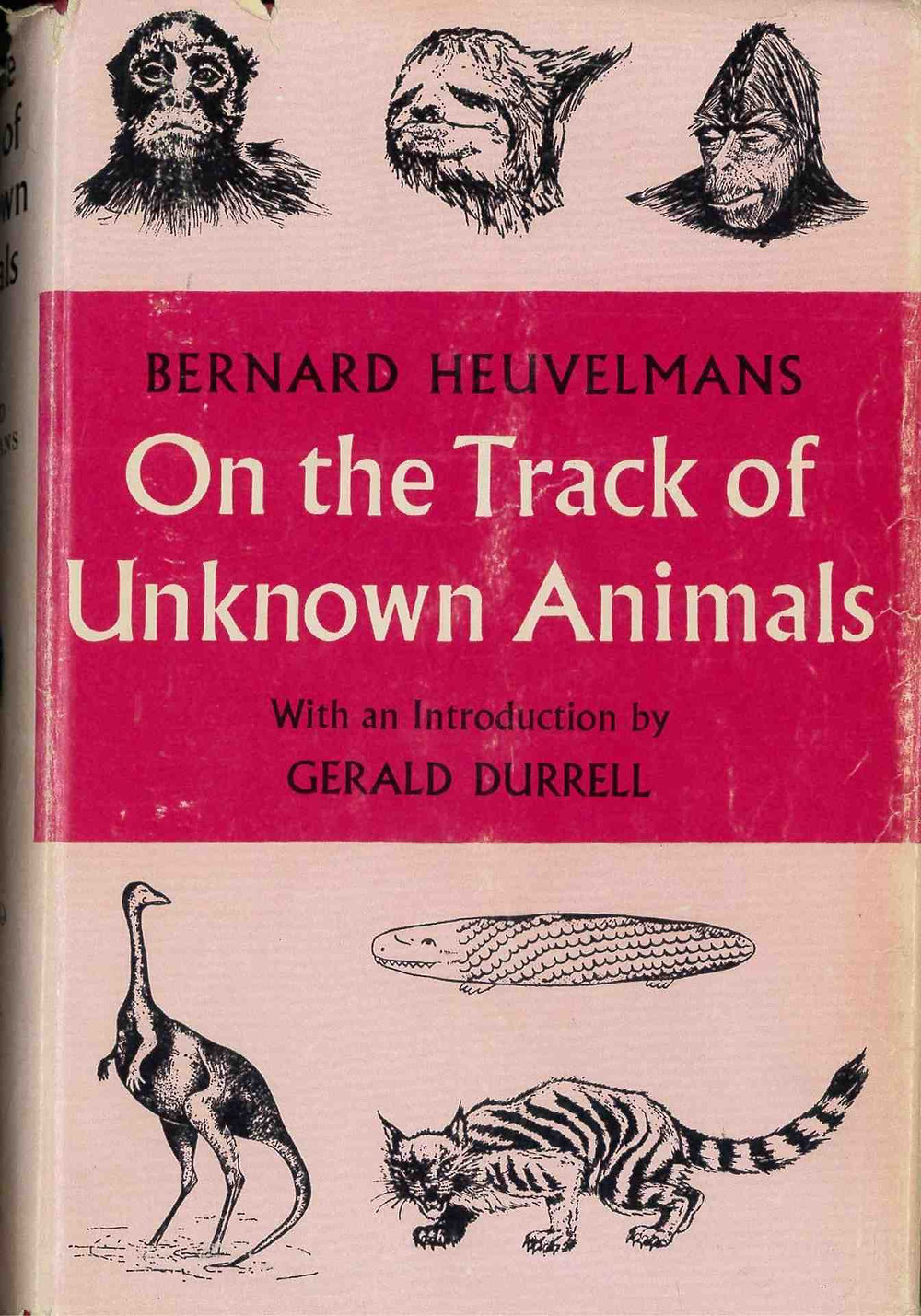Image of Bernard Heuvelmans book On the Track of Unknown Animals