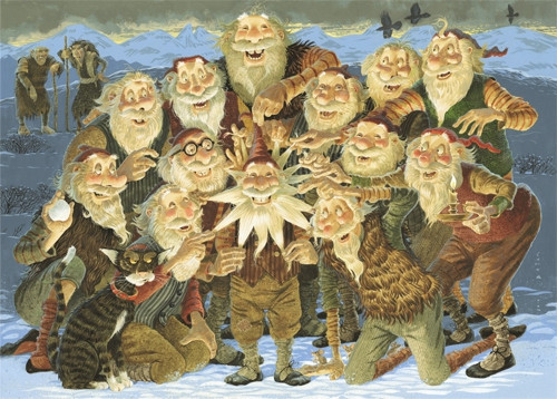 The 13 Yule Lads and there parents