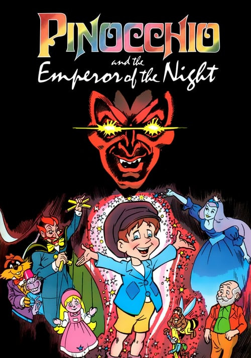 Pinocchio and the Emperor of the Night (1987) movie poster