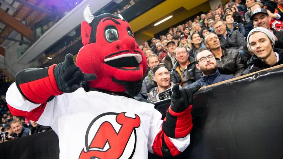New Jersey Devils Mascot