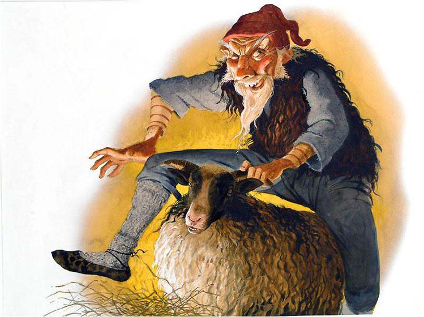 Sheep Coat Clod