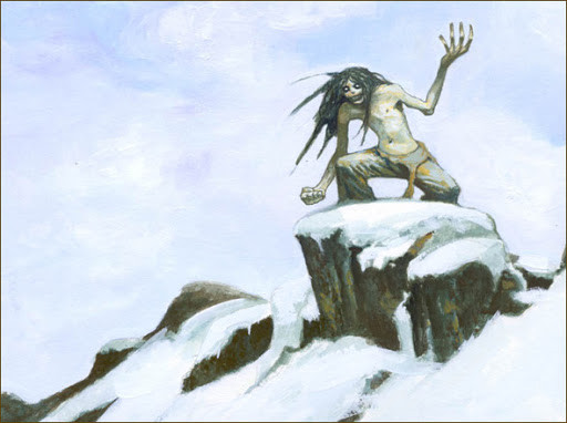Inuit Demon the Mahaha