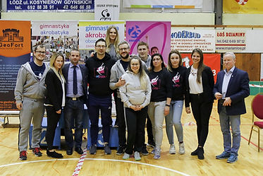GIMSTAR Gimnastyka Akrobatyka na zawodach w Łodzi