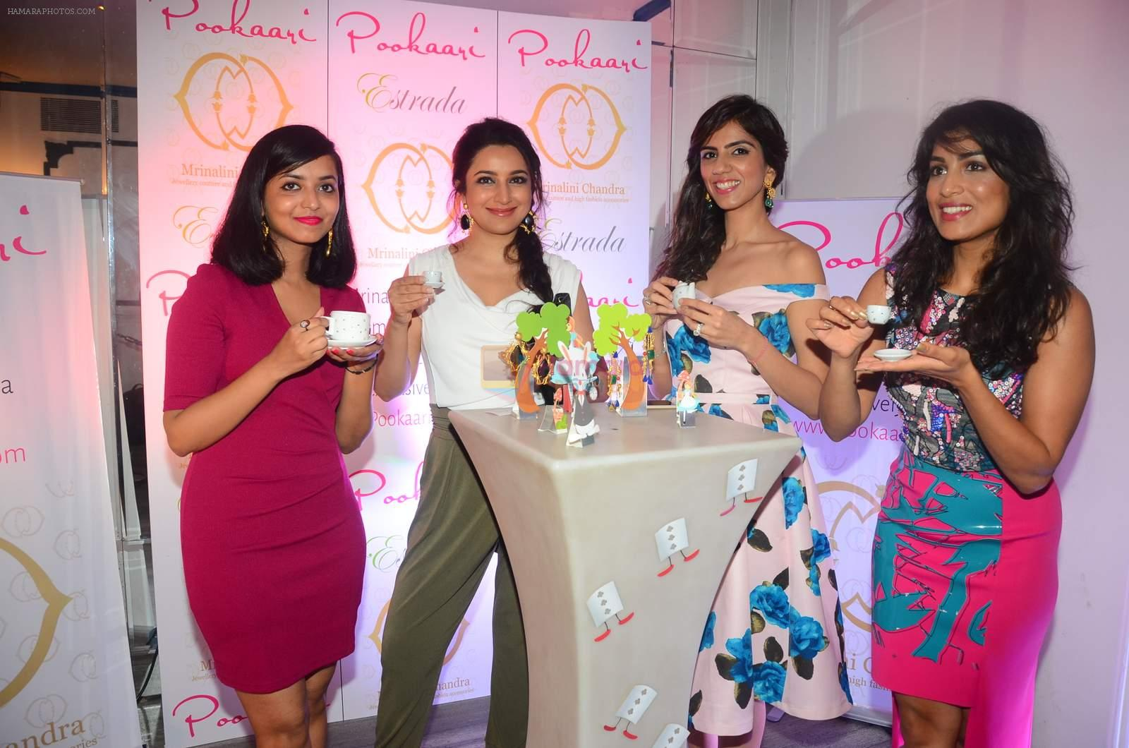 hpse_fullsize__3326176089_Tisca Chopra, Nishka Lulla, Pallavi Sharda at Mrinalini Chandra and Pookar