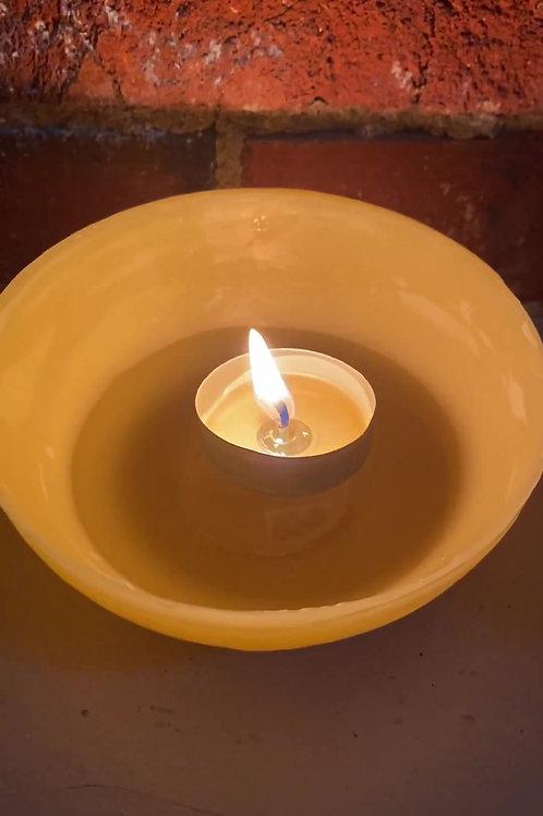 Beeswax Tea light Luminaries