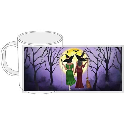 Personalized Bestie Witch Mug