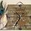 "Thumbnail: ""It's Time""   Wood plaque clock"