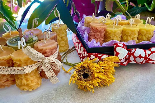 Beeswax SunFlower Candle Bouquet or Box