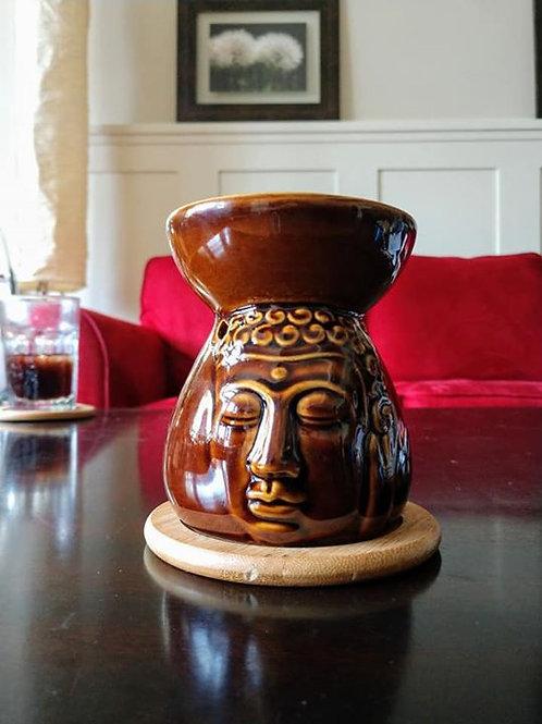 Buddha or Owl Wax Warmer Set